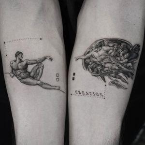 Creation • • Sponsored by @eztattooing @panormostattoo  @tattoobull.lab #vselect #vselectcartridges  #tattoo #art #history #lion #statue #composition #bodyart #davinci #esquisse #blackandgreytattoo #black #ink #inkstinctsubmission ##blackwork #tatts #inkedmag #tattooist #artist #sametyamantattoos #tattoodo #design #tattoodesigner