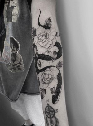 Tattoo from Comme des dessins