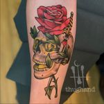 Tattoo by Doug Hand #DougHand #illustrative #philadelphia #neotrad #neotraditional #philly