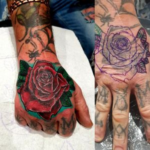 Cover up tattoo Done by me Tiago Silva