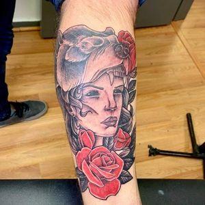 Thanks ty #tattoofactory #tyeast #mothernature #legpiece