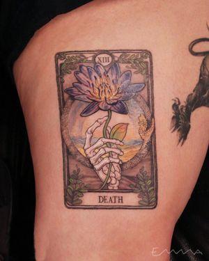 Custom Death Tarot Card