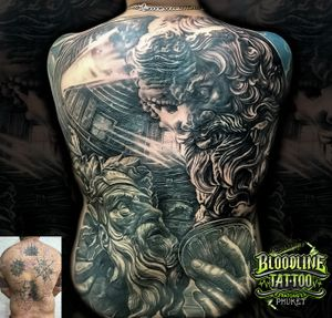 Cover Up Full Back Ancient Greek