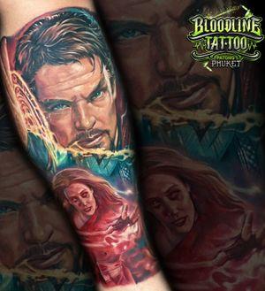 Avengers Coloured Leg Piece
