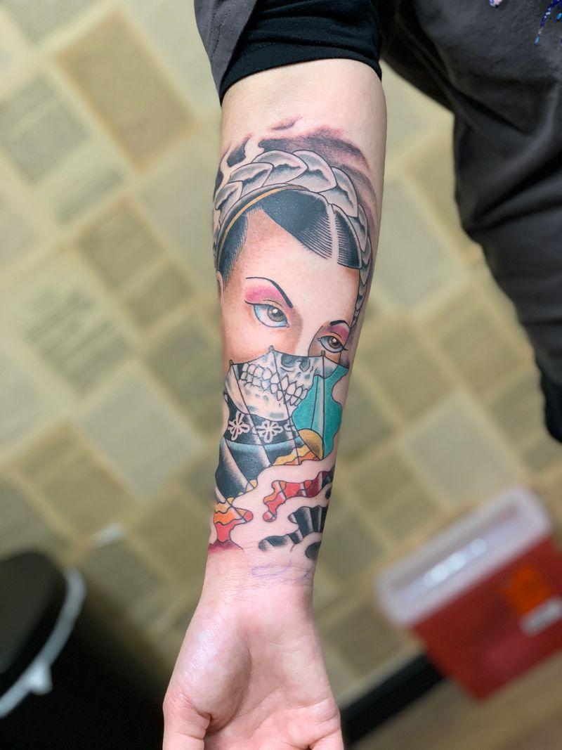 Tattoo from Travis Thorpe