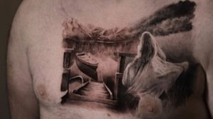 Almost done full chest Appointment: turuianumihaialexandru@gmail.com https://www.instagram.com/turuianu.mihai @cheyenne_tattooequipment @fkirons @worldfamousink @no.regrets.uk #legendaryink #xiontattoomachine #relistictattoo #bristoltattoo #photorelism #tattooartist #tattoosurrealism #skinart #skinartmag #inkaddict #chesttattoo #realismtattooartist #art #ink #realismartist #realismotattoo #inked #photorealism #inked #ilovetattoo #inkaddicted #boattattoo #b&gtattoo #landskape