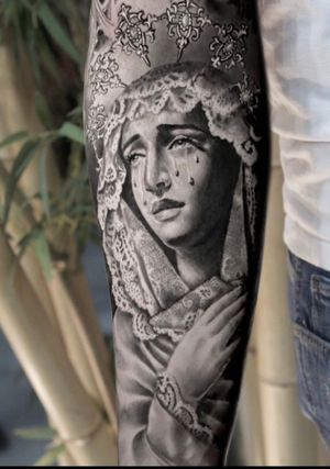 6 months healed tattoo
