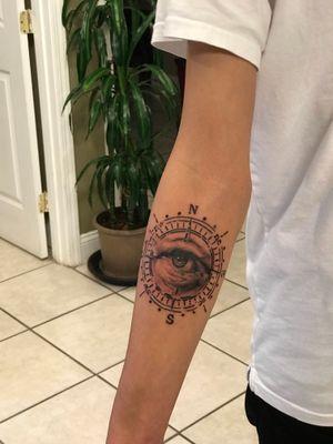 Fun original custom design I tattooed 👁 #denvertattoo #denvertattoos #denvertattooartist #denvertattooer #denvertattooshop #coloradotattoo #coloradotattooartist #coloradotattooers #coloradotattoos #blackandgrey #blackandgreytattoo
