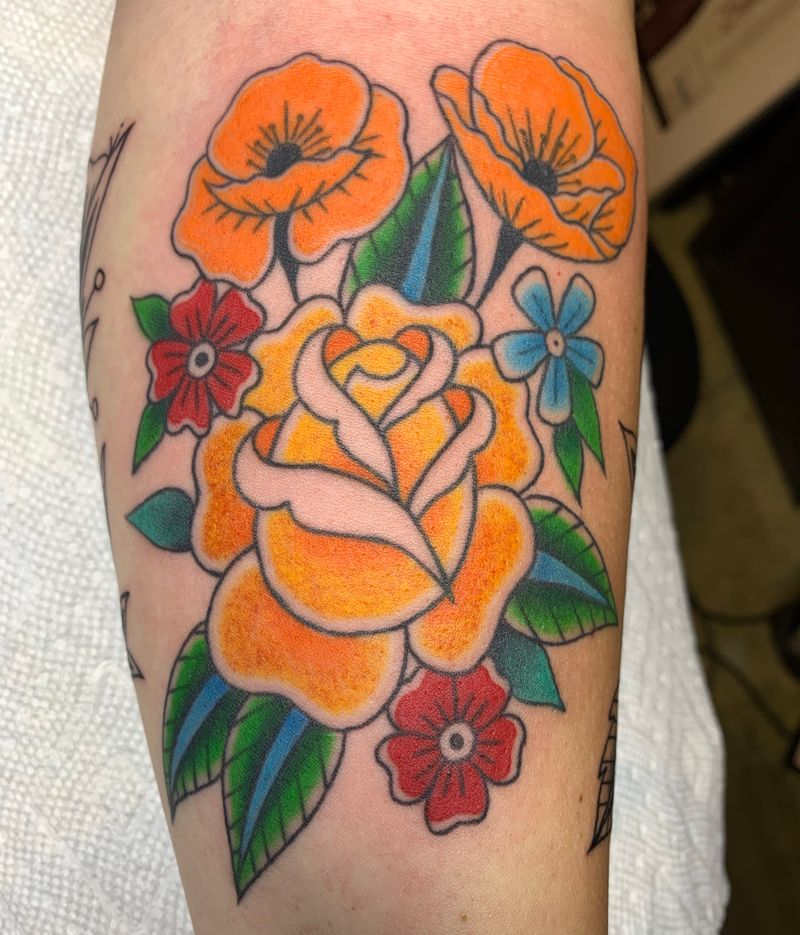 Tattoo from Courtney Michael