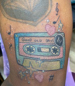 """Good old days"" cassette tape"