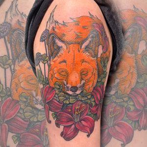 Fox done by Joelle  2/21