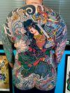 Lady Samurai & Dragon Back Piece