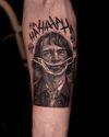 Joker  #jokertattoo #joker