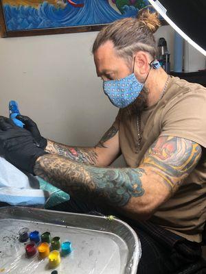 Tattoo from Axiom Tattoo