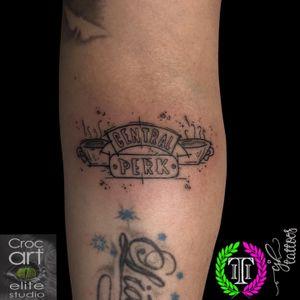 Central Perk. #tattoo #friendstattoo #sketchtattoo #fineline #finelinetattoo