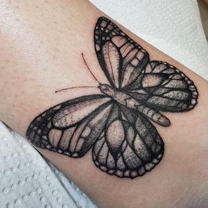 #butterfly #coverup #butterflytattoo #blackwork #blackandgreytattoo #lines #dots #cute #inked #girlytattoos #coveruptattoo #loveink #amsterdam #dordrecht #denhaag #netherlandstattoo
