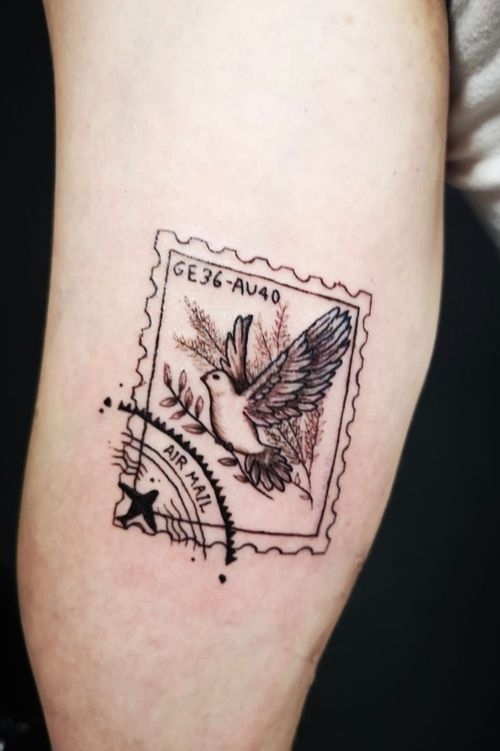 Tattoos taube Tattoo Taube