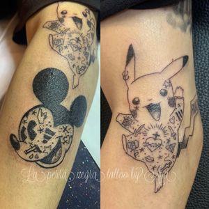 Tattooed character
