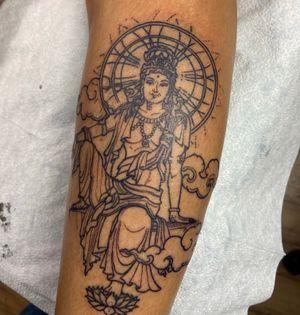 Dharma/Avalokitshivara tattoo