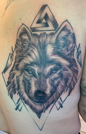 Grinning Wolf and geometry