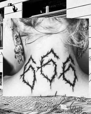 666 @6ixthculttattoos Berlin