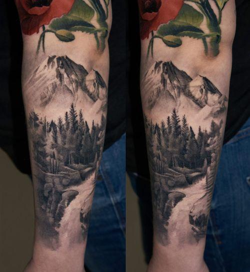 healed mini landscape