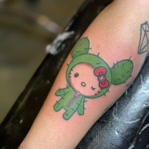 #hellokitty #tattoohellokitty #tattoosandiego #cutetattoo #colortattoo