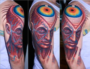 2 sessions, based on Alex Grey`s painting