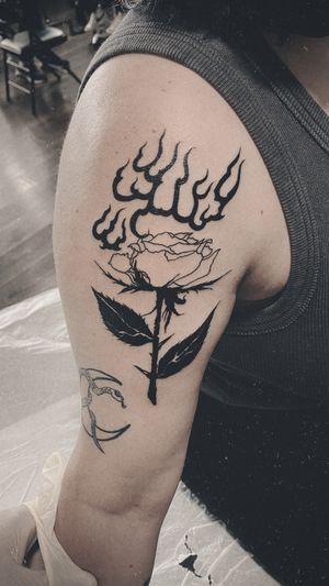 Tattoo from ARTEM BLACKWORKNYC