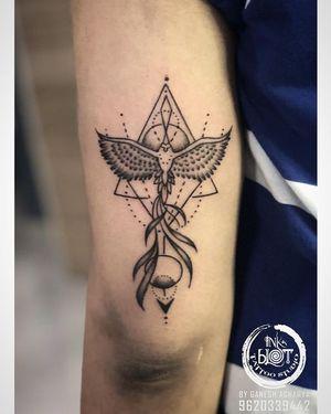 Custom Geomatric Pheonix tattoo done @inkblottattooz Contact :9620339442 Visit : www.inkblottattoos.com #pheonixtattoo #geomatrictattoo #blackngreytattoo #tattoo #tattoos #tattooideas #tattoodesign #tattooartist #tattooart #tattoogirl #tattoolife #tattoolove #tattooink #tattooflash #tattoosleeve #tattooinspiration #tattooidea #tattooing #tattooshop #tattooworkers #tattooworld #tattoolovers #tattooworld #tattoogirls