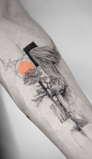 Healed Oxy boy 🟠 . Booking OPEN! johny@danieltprocsik.com . @torocsikartroom . . #tattooed #inked #art #artist #tattooartist #budapest #bp #budapesttattoo #ox #cow #minimal #minimaltattoo #finelinemag #tree #blackwork #fineline #dailytattoo #tattoodo #hungary #hungariantattoo #sketch #tattoodesign #smalltattoo #travel #photography #instatattoo