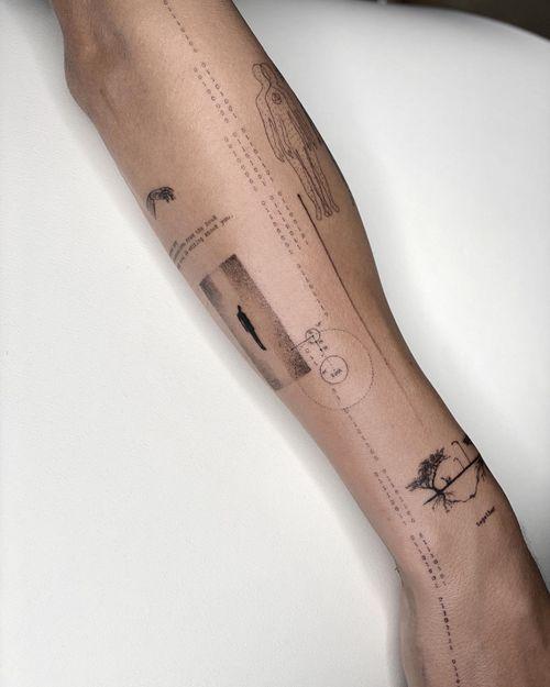 on progress #tattoo #finelinetattoo #singleneedletattoo