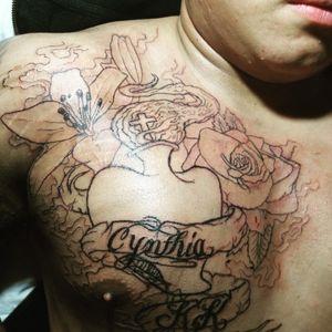 Tattoo from danny buddin