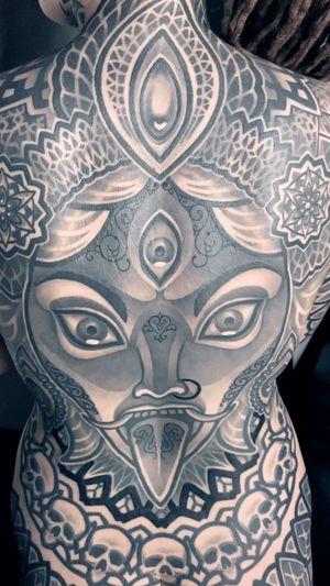#kali #MaximXIII #cheyenne #tattoo #ornamental #linework #dotwork #blackwork #тату #орнаментал
