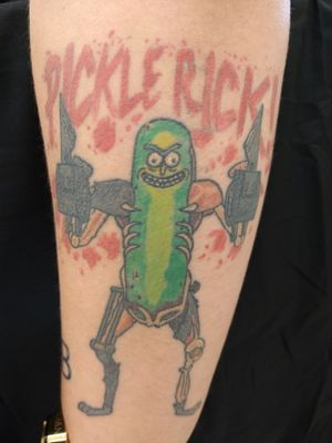 Healed Pickle Rick done by Jay Jersey!!!