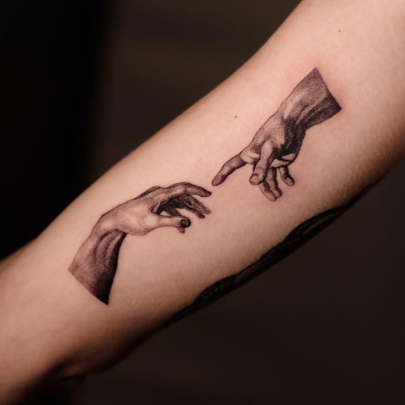 Tattoo from Horror tattoo