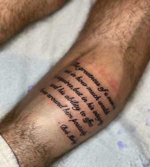 #nothingsacredtattoo #di_tattoo #downtownsandiego #sandiegotattooartist #sandiegotattoo #letteringtattoo #bobmarley #bobmarleyquotes #bobmarleytattoo #tattoo