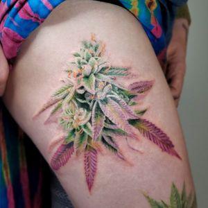 #weed #marijuana #realism #realismtattoo
