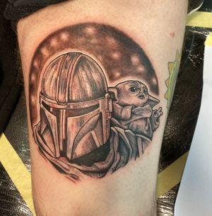 Mandalorian tattoo