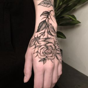 Freehand Rose