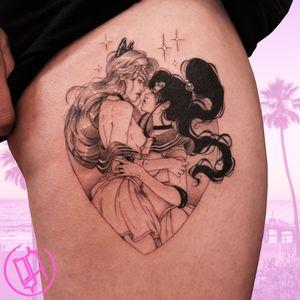 ✨ Venus and Sailor moon 🌙