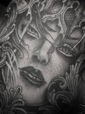 Tattoo by VAMACHARA Tattoo Studio & Occult Supply Shoppe