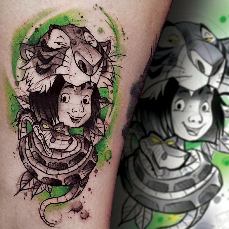 Tattoo from Balta Paprocki