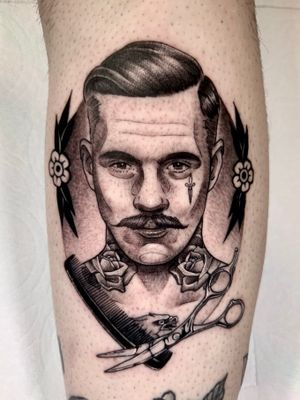 Barber man