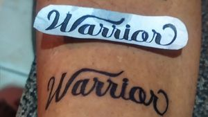 #Warrior # rj work