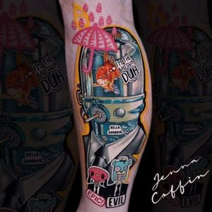 Umbrella academy tattoo
