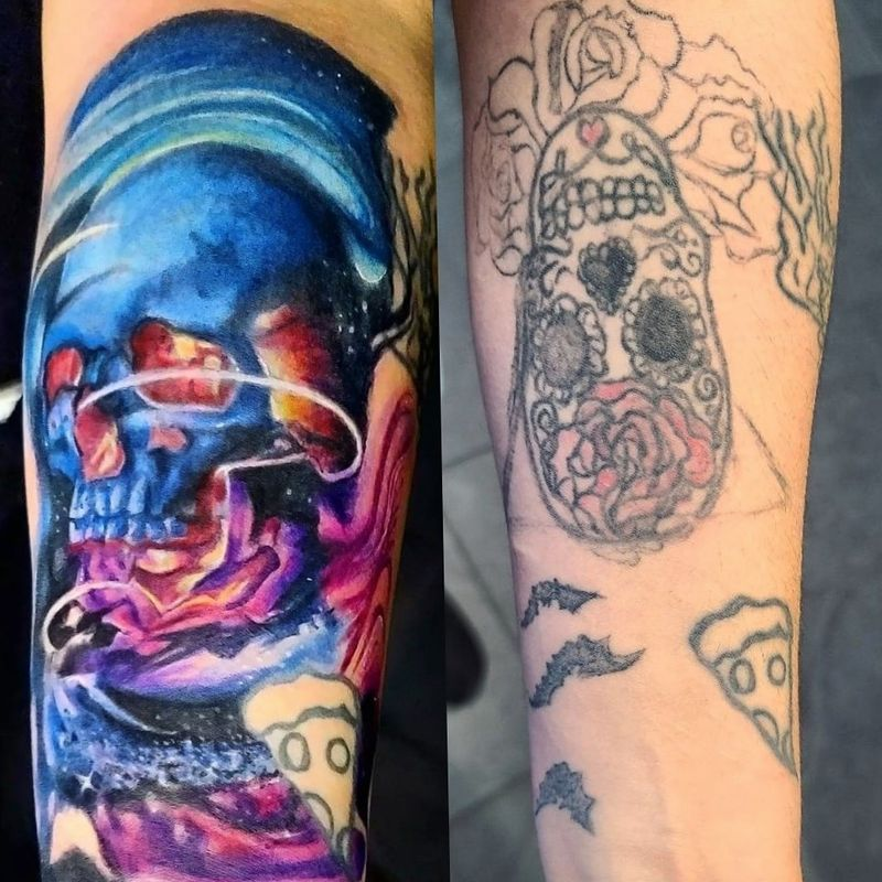 Tattoo from caleb brouk