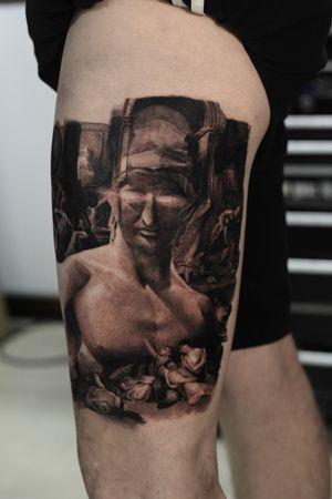 Furst 2 session from full leg Appointment: turuianumihaialexandru@gmail.com www.turuianumihai.com https://www.instagram.com/turuianu.mihai @cheyenne_tattooequipment @fkirons @worldfamousink @no.regrets.uk #legendaryink #xiontattoomachine #relistictattoo #bristoltattoo #photorelism #tattooartist #tattoosurrealism #skinart #skinartmag #inkaddict #inksav #realismtattooartist #art #ink #realismartist #realismotattoo #inked #photorealism #inked #painttattoo #inkaddicted #inklovers #bristol #portraittattoo