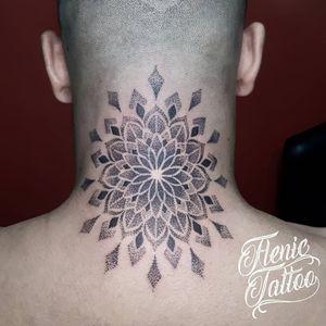 Mandala #tattoomandala #dotwork #blackwork
