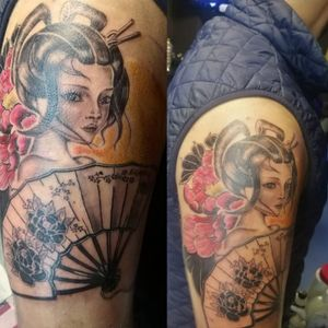 #gueixatattoo #losguapostattoo #lisbontattoo #tattooshopespaña #fkirons #xpectraxion #tripartetattoosupplies